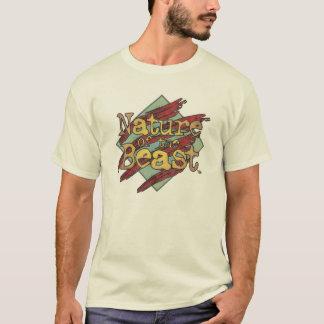 "Camiseta ""Natureza logotipo resistido do animal"""