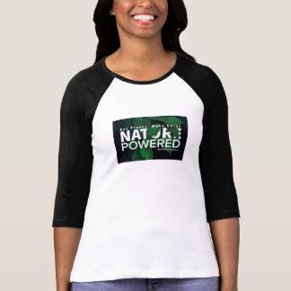 Camiseta Natureza psta. Coma plantas. Faça ganhos