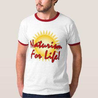 Camiseta Naturista/nudista