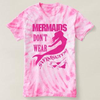Camiseta Naturistas/nudistas - t-shirt cor-de-rosa da