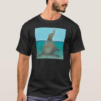 """Camiseta """"Nautilus"""" o leão de mar"""