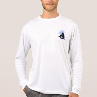 Camiseta Navegando o concorrente L/S T do Esporte-Tek dos