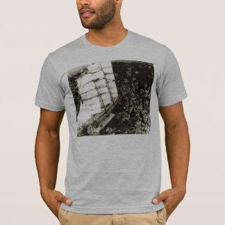 Camiseta Navigação através das ervas daninhas