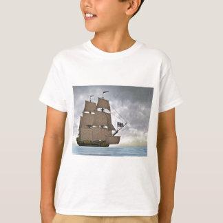 Camiseta Navigação Corveta em um dia lindo