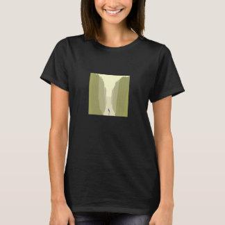 Camiseta Navigação em um t-shirt calmo do mar