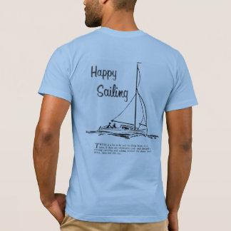 Camiseta navigação feliz