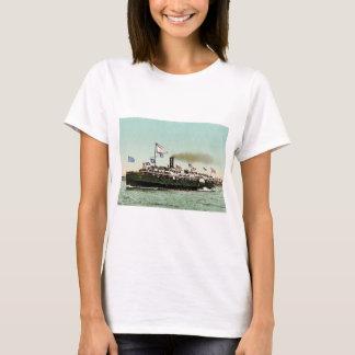 """Camiseta Navio a vapor """"cidade de Erie"""" 1900"""