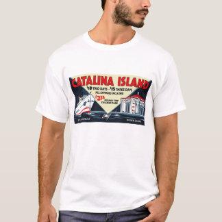 Camiseta Navio a vapor da ilha de Catalina do vintage e T
