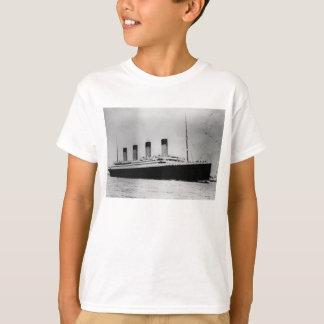 Camiseta Navio a vapor RMS do forro de passageiro titânico