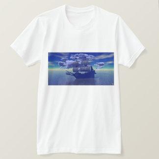 Camiseta Navio da nuvem