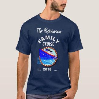 Camiseta Navio de cruzeiros das férias do cruzeiro da