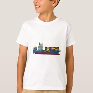 Camiseta Navio de recipiente