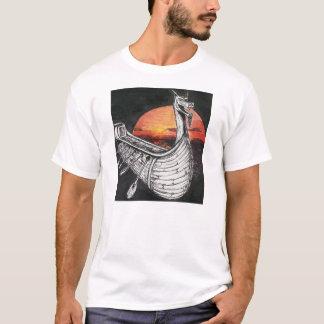 Camiseta Navio de Viking
