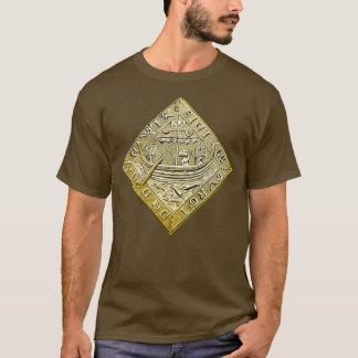 Camiseta Navio no mar e na âncora