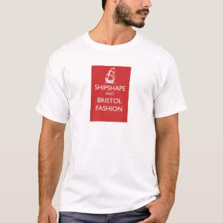 Camiseta Navio Shipshape e de Bristol da forma de navigação