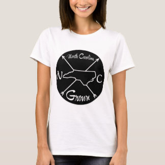 Camiseta NC crescido North Carolina