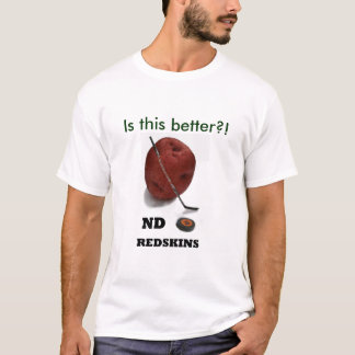 Camiseta NDRedskins é este melhor?!