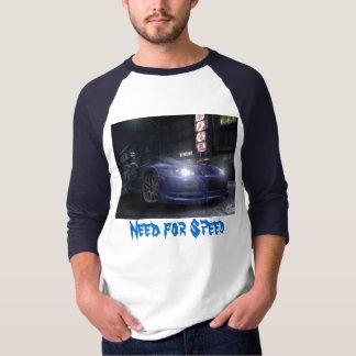 Camiseta Necessidade para a velocidade