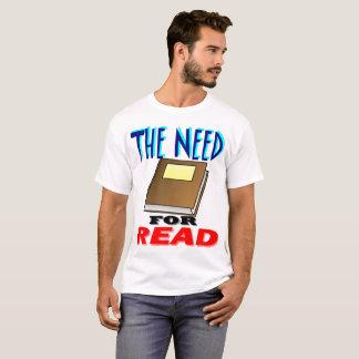 Camiseta Necessidade para lido