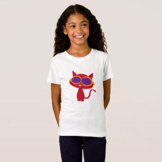 Camiseta Neco vermelho (gato) com vidro de Sun!