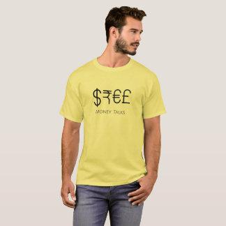 Camiseta Negociações do dinheiro!