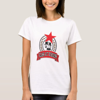 Camiseta negócio do ato da classe do cozinheiro chefe