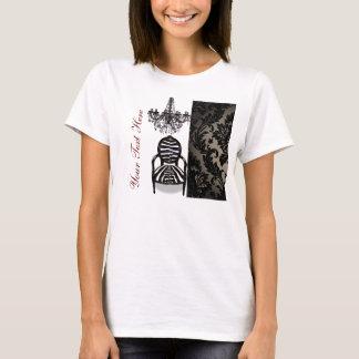 Camiseta Negócio luxuoso do boutique do candelabro do