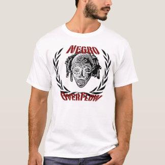 Camiseta negroverflow