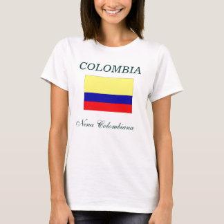 Camiseta Nena Colombiana