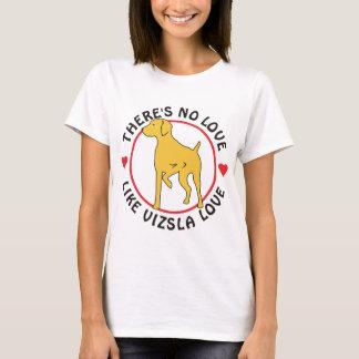 Camiseta Nenhum amor gosta do amor de Vizsla