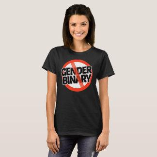 Camiseta Nenhum binário do género - -