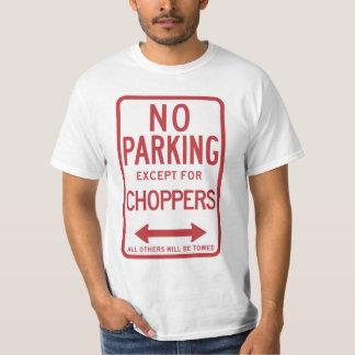 Camiseta Nenhum estacionamento à exceção do sinal dos