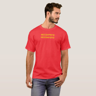 Camiseta NENHUM FANTOCHE! - O t-shirt de NENHUNS homens de