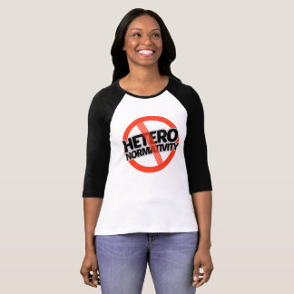 Camiseta Nenhum Hetero-Normativity - -