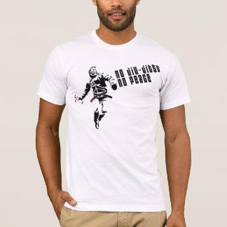 Camiseta NENHUM JIU-JITSU, NENHUMA PAZ! (frente e verso)