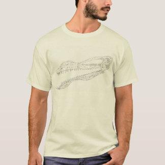 "Camiseta ""Nenhum latido & toda a mordida"" (Pterosaur)"