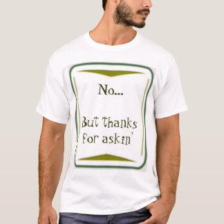 Camiseta Nenhum… mas obrigados para o askin