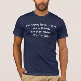 Camiseta Nenhum Meow. dos buts