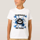 Camiseta Nenhum paintball do medo