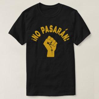 Camiseta Nenhum Pasaran - não passarão