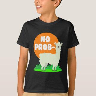 Camiseta Nenhum Prob-Lama - nenhum lama do problema -