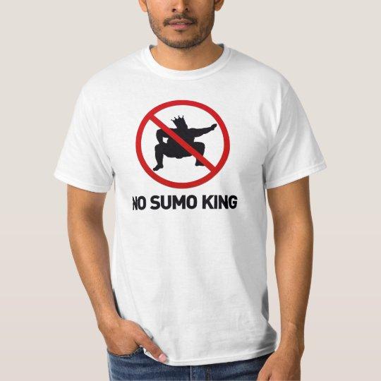 Camiseta Nenhum rei do Sumo