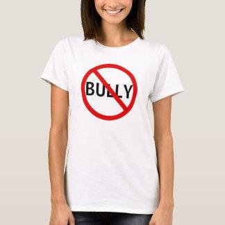 Camiseta Nenhum sinal da mensagem da intimidação
