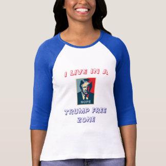 Camiseta Nenhum t-shirt da zona do trunfo