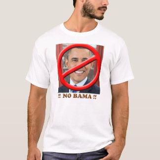 Camiseta Nenhum t-shirt de Obama
