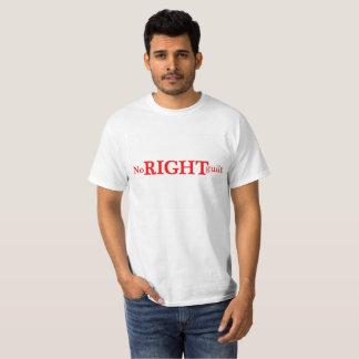 Camiseta Nenhum t-shirt DIREITO da culpa