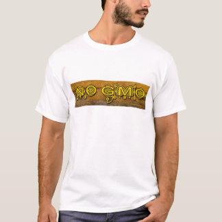 Camiseta Nenhum t-shirt do círculo da colheita de GMO