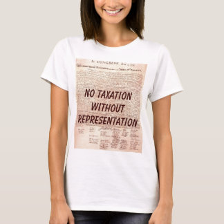 Camiseta Nenhum t-shirt dos espaguetes da tributação