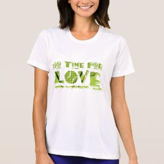 Camiseta Nenhum tempo para o T do tênis do amor