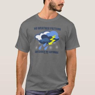 Camiseta Nenhum teste padrão de tempo pode chocar-me